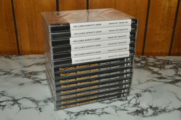 THE CAROL BURNETT SHOW COLLECTOR#x27;S EDITION DVD LOT Episodes 611 714 More