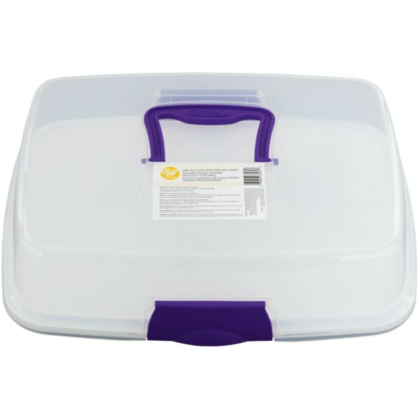 Wilton Oblong Cake and Cupcake Carrier Cupcake Container
