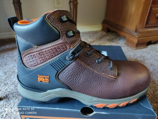 Timberland Pro Hypercharge 6quot; Composite Toe Waterproof Work Boots Mens 12W