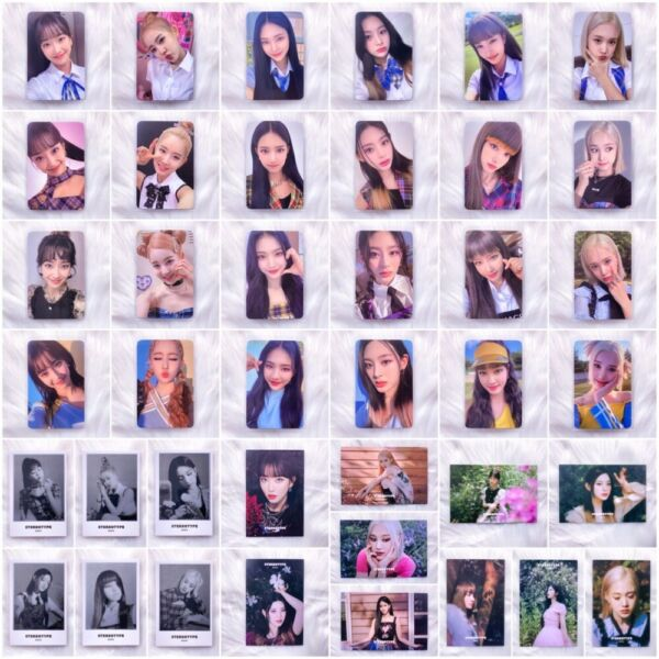 STAYC STEREOTYPE 1ST MINI ALBUM OFFICIAL PHOTOCARD POSTCARD SCRATCH CARD US