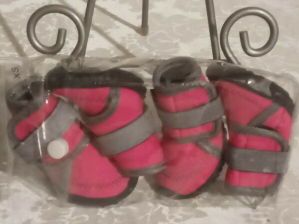 NEW Pink Puppy Dog Snow Boots GREAT TREAD ON SOLES amp; Free Shipping SIZE XS $14.99