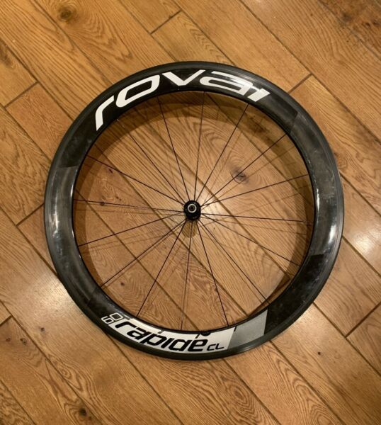 Specialized ROVAL Rapide CL 60 Carbon Clincher 700c RIM WheelSet FOR PARTS ONLY $175.00