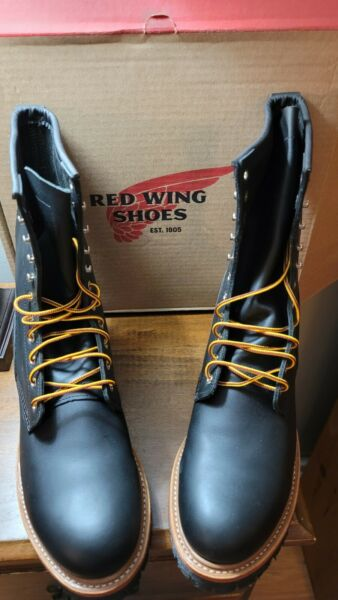 Red Wing Logger Boots Size 12. Steel Toe. New in box Never worn.