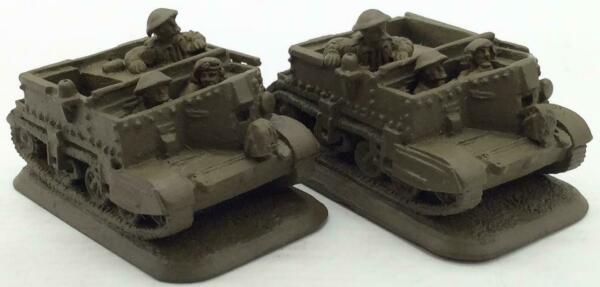 Battlefront FoW British Loose Mini Universal Carrier Collection #14 NM $15.00