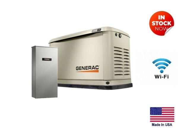 STANDBY GENERATOR Residential LP amp; NG Fired 10 kW 120 240V 1 Phase $4983.12
