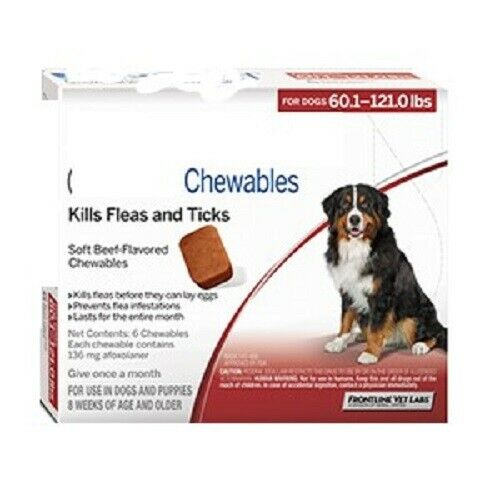 flea and tick control for dogs $95.00