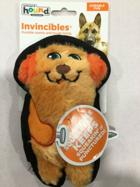 Dog toy Outward hound invincible squeaker Dog dog toy. New No stuffing no mess $9.99