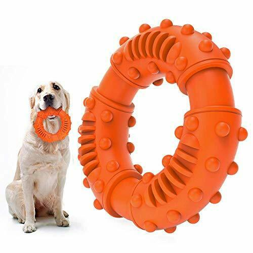ABTOR Ultra Durable Dog Chew Toys Toughest Natural Rubber Texture Nub Dog To $11.52