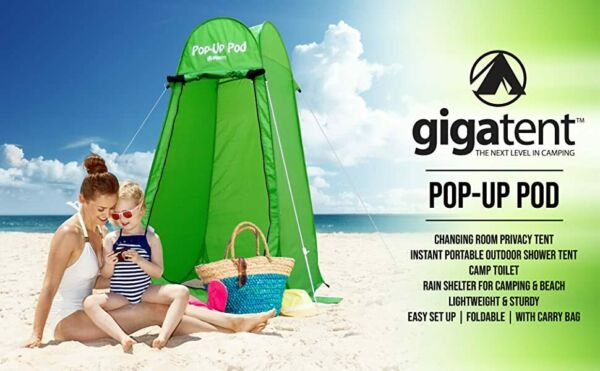 Pop Up Pod Changing Room Privacy Tent – Instant Portable Outdoor Shower GiGaTent $48.04