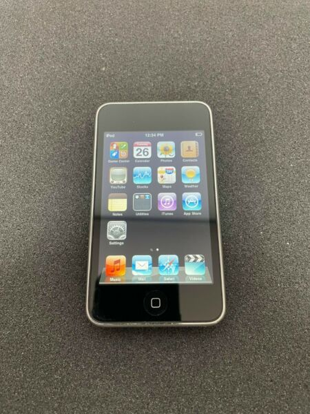 Apple iPod Touch A1288 2nd Generation 8GB Black Factory Reset