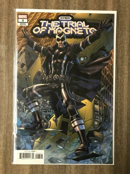 X Men the Trial of Magneto #3 Hitch 1:25 Variant NM $8.45