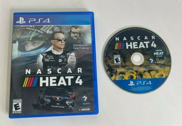 NASCAR Heat 4 Sony Playstation 4 PS4 2019 PS4 Video Game $9.97