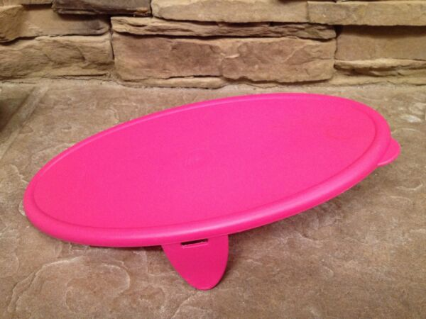 Tupperware oval cereal storer replacement bottom~PInk