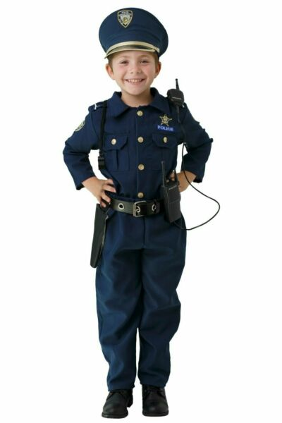 Police Costume Set For Boys And Girls Cop Role Play Set By Dress Up America $29.95