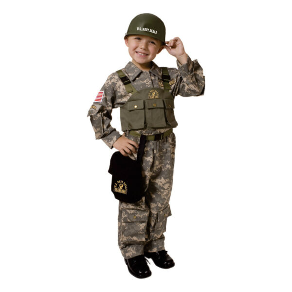 Army Costume U.S. military Soldier Costume For Kids By Dress Up America $31.99