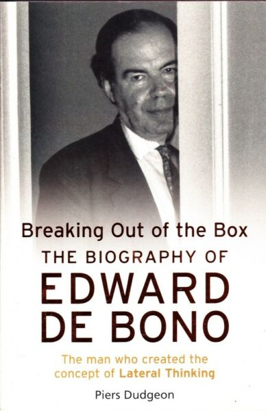 Dudgeon Piers BREAKING OUT OF THE BOX: THE BIOGRAPHY OF EDWARD DE BONO SC Book AU $24.00