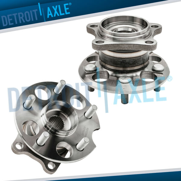 Rear Wheel Bearing amp; Hub Assembly Pair 4WD AWD for 04 13 Toyota Highlander Venza $86.20