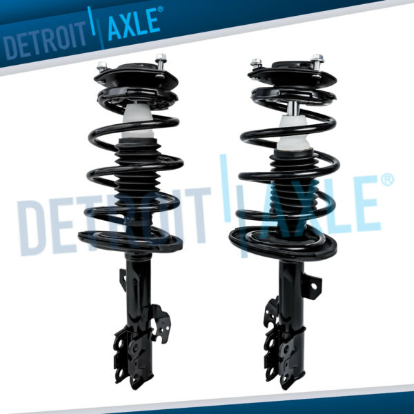2 Front Quick Loaded Struts for 2004 2005 2006 Toyota Camry Solara Lexus ES300