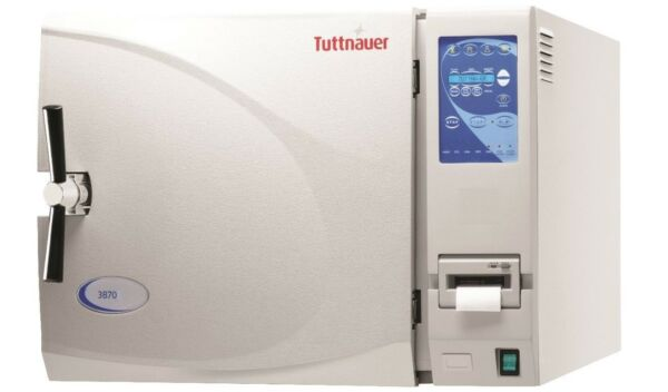 Tuttnauer 3870EAP Autoclave Sterilizer with Printer & stand ships free In Stock