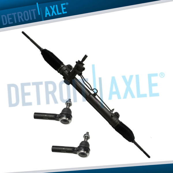 Power Steering Rack and Pinion 2 NEW Outer Tie Rod for Chrysler 300 Magnum 2WD $126.74