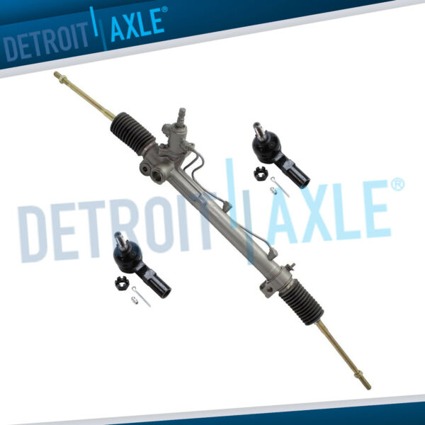 Power Steering Rack and Pinion 2 New Front Outer Tie Rod for LEXUS RX300 $142.47