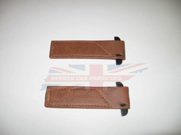 New Pair of Door Check Straps for MG Midget Austin Healey Sprite Autumn Leaf