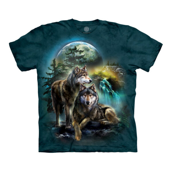The Mountain Wolf Lookout Adult Unisex T Shirt $18.65