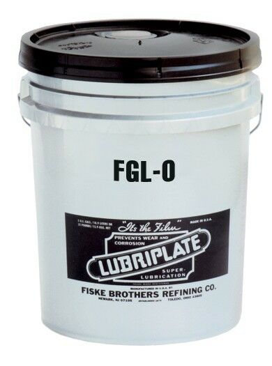 Lubriplate FGL-0 L0230-035Anhydrous Calcium Food Grade Grease 35 LB PAIL