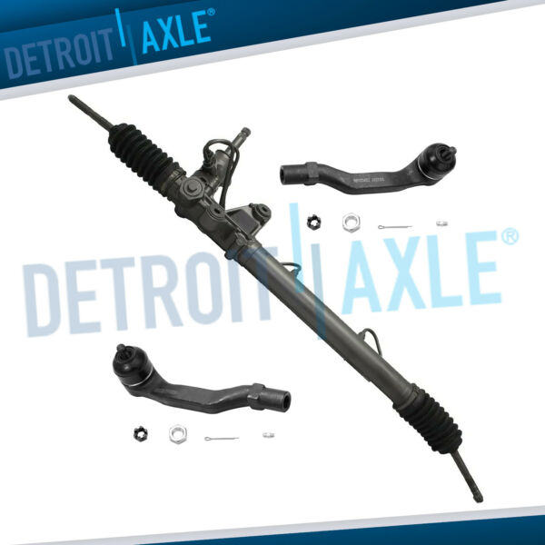 Power Steering Rack amp; Pinion Assembly 2 Outer Tie Rod End for Acura Honda $324.24