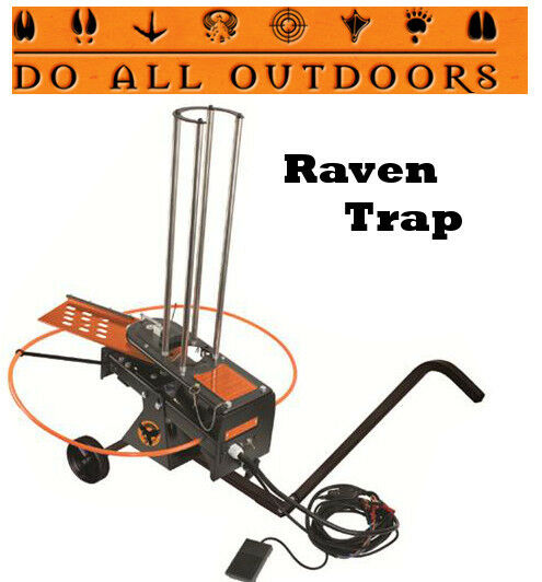 Do All Outdoors Raven Automatic Trap 50 Clay Launcher Remote Pedal Wheels RAV1