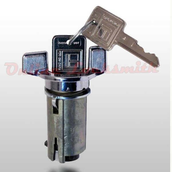 Ignition Switch Cylinder For Chevrolet GMC 70-78 With Bolt Include 2 Keys LC1426