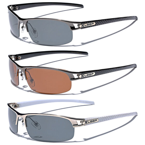 POLARIZED Metal Men Sunglasses Sport Fishing Golf Driving Anti Glare Glasses