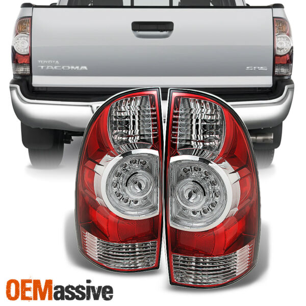 Fits 05 15 Toyota Tacoma Tail Lights Brake Lamps Taillight Aftermarket 2005 2015 $118.99