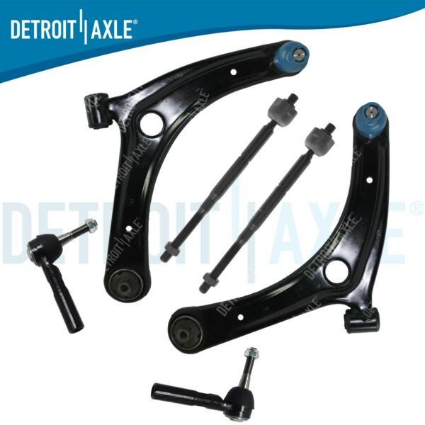 Front Lower Control Arm Inner Outer Tierod 2007-2016 Dodge Caliber Jeep Compass