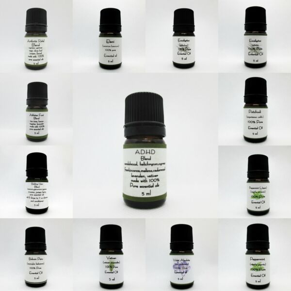 100% Pure Essential oils 5 ml- From A-Y  Buy 3 get 1 Free add 4 to cart New Oils