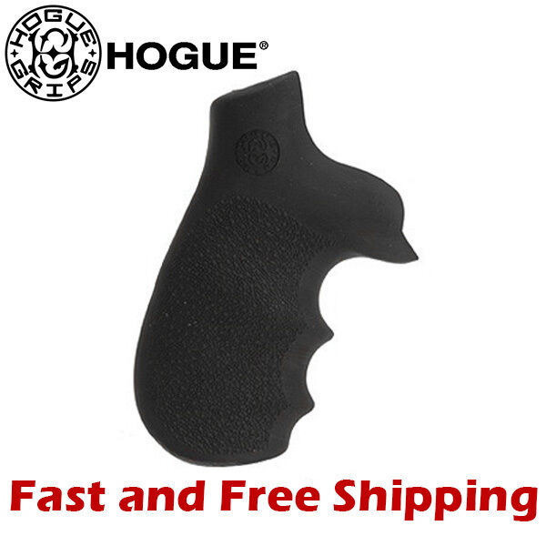 Hogue Grip Rubber Monogrip w Finger Grooves for Taurus TrackerJudge Revolver