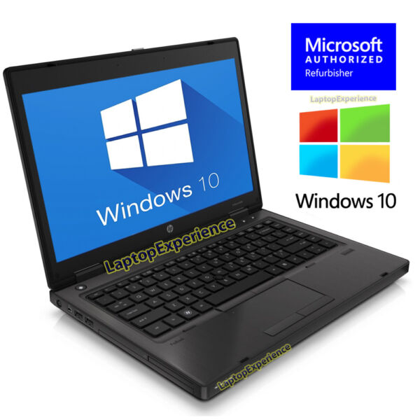 HP LAPTOP COMPUTER PROBOOK WINDOWS 10 WIN 14