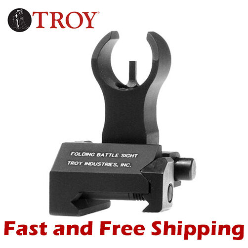 SSIG FBS FHBT 00 Troy Industries HK Style BattleSight Folding Front Sight Black