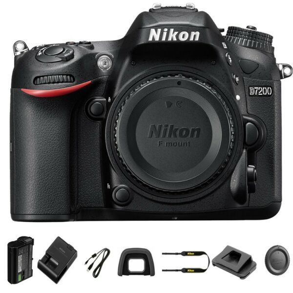 Nikon D7200 Body Only DSLR Camera Brand New