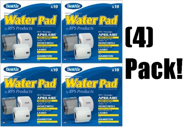 (4) ea Best Air RPS A10 Replacement Wicking Furnace Humidifier Pads  Filters