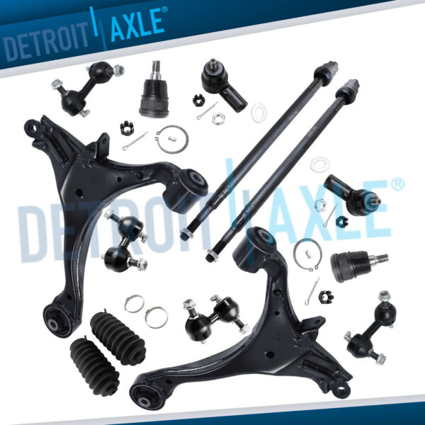 2001 2002 2005 Honda Civic Excludes SI Complete Front and Rear Suspension Kit $129.20