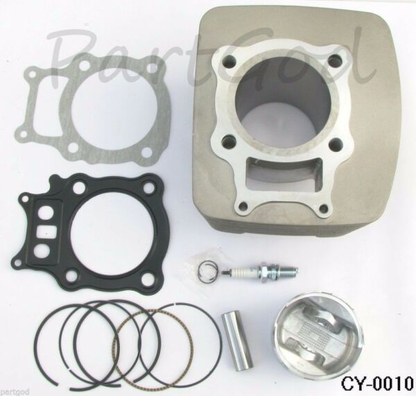 Cylinder Piston Pin Ring Gasket Kit Set For Honda Rancher TRX 350 2000-2006  E1