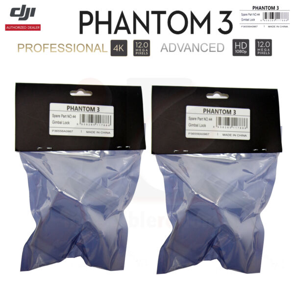 DJI Phantom 3 Professional Advanced RC Camera Drone Part 44 Gimbal Lock Clamp x2