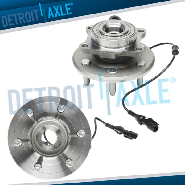 2pc Rear Wheel Hub and Bearing Assembly for 2003 2006 Expedition Navigator w ABS $115.62