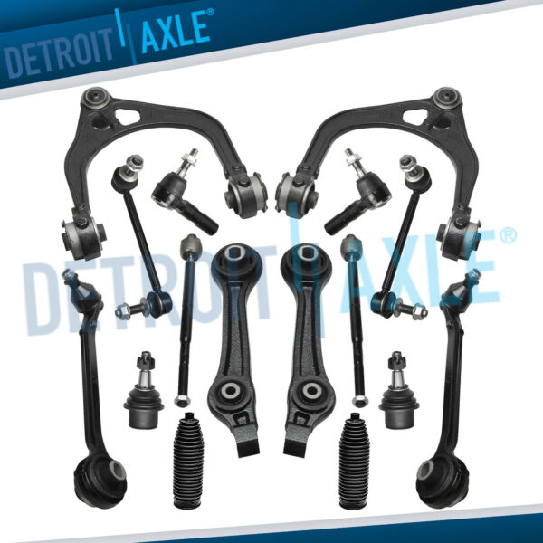 16pc Upper Lower Control Arms Kit Dodge Charger Magnum Chrysler 300 RWD