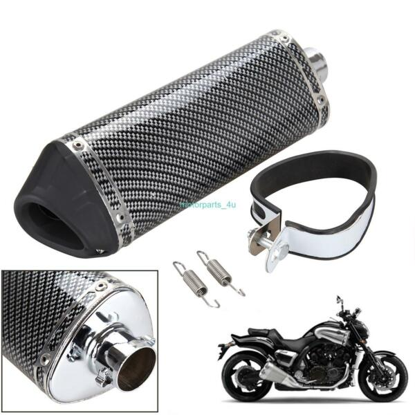 38mm Motorcycle Exhaust Muffler With DB Killer Slip on Dirt Pit Bike Scooter ATV