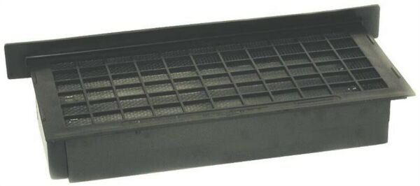 Foundation Vent Brown PlasticNo A-ELBROWN  Witten Automatic Vent Company