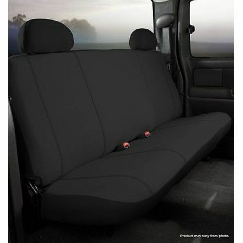 FIA SP87 7 Black Bench Seat COVER Black Fits 99 07 Ford Super Duty