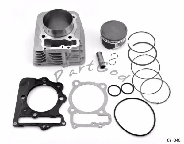 BIG BORE CYLINDER PISTON KIT for TRX400EX 89mm 440CC  1999-2008   CY-40  E1