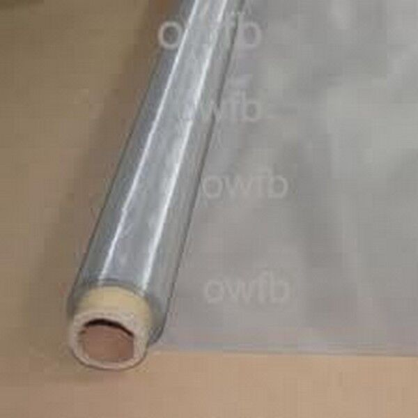 24quot;x 18quot; 50 Micron Mesh Roll Stainless Steel wire Cloth Diy Filter Screens $34.99